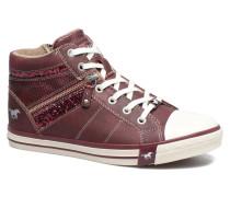 Eper Sneaker in weinrot