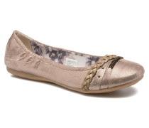 Oli Ballerinas in goldinbronze