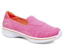 Go Walk 4 Speedy Sports Sneaker in rosa