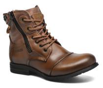 Sara zip Stiefeletten & Boots in braun