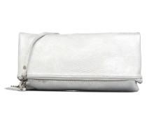 Léonie Cuir Vieilli Mini Bags für Taschen in silber