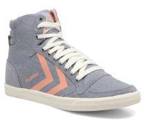 Ten Star Smooth Hi Sneaker in grau