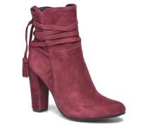 Glorria Stiefeletten & Boots in weinrot