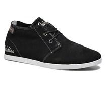 Zipper Sneaker in schwarz