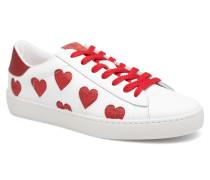 Deportivo Laser Corazones Sneaker in weiß