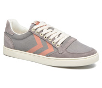 Ten Star Herringbone Low Sneaker in grau