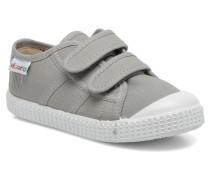 Basket lona Dos Velcos Sneaker in grau