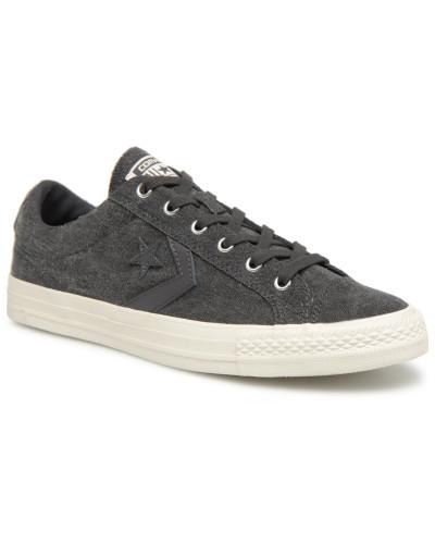 Converse Herren Star Player Fashion Textile Ox Sneaker in schwarz