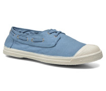 Tennis bateau Sneaker in blau