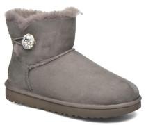 W Mini Bailey Button Bling Stiefeletten & Boots in grau