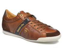 Pesaro Piceno Low Men Sneaker in braun