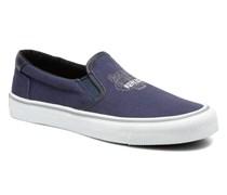 Velvet Sneaker in blau
