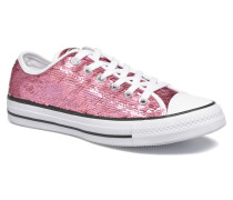 Chuck Taylor All Star Iridescent Sequin Ox W Sneaker in rosa