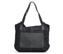 TACITA MIX Cuir Cabas Handtaschen für Taschen in grau