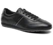 Pelta Sneaker in schwarz