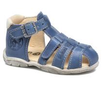 Manolo Sandalen in blau