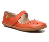 El Viajero 249 Ballerinas in orange