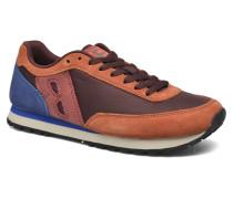 Running Nylon Sneaker in braun