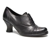 Rococo S845 Schnürschuhe in schwarz