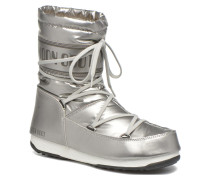 We Soft Met Mid Stiefeletten & Boots in silber
