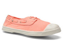 Tennis bateau Sneaker in orange