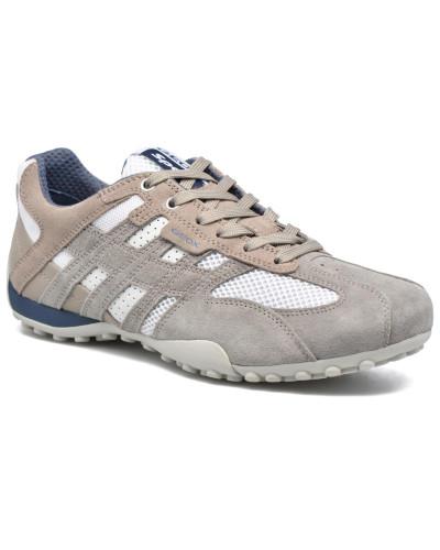 Geox Herren U SNAKE K U4207K Sneaker in weiß Abstand Rabatt TEpZXqxH