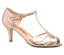 Mama Pumps in goldinbronze