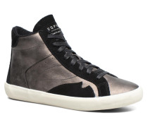 Vera Bootie Sneaker in grau