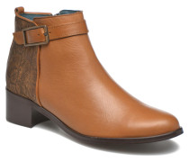 GLELIN *Mult Vo Truck CAMEL ~Doubl & 1ere CUIR Stiefeletten Boots in braun