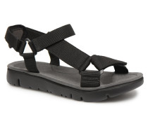 Oruga 6 Sandalen in schwarz