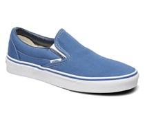 Classic Slip On W Sneaker in blau