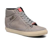 Tamy Suede Sneaker in grau