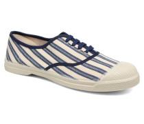 Tennis Rayures Transat Sneaker in blau