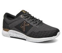 Knitwear F Sneaker in schwarz