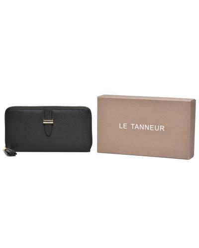 CAPUCINE Portemonnaie long zippé Portemonnaies & Clutches für Taschen in schwarz