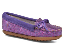 Glitter Moc Slipper in lila