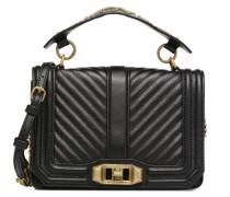 Small Love Crossbody Handtaschen für Taschen in schwarz