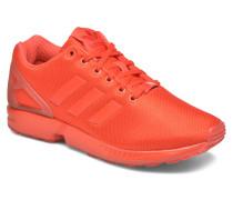 Zx Flux Sneaker in rot