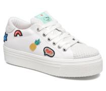 Tokyo Patch Sneaker in weiß