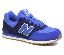KL574 J Sneaker in blau