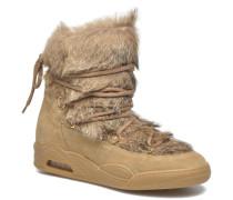 Moon Fur Stiefeletten & Boots in braun