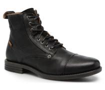 Emerson Lace Up Stiefeletten & Boots in schwarz