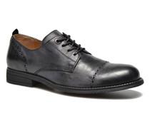 MARLO Schnürschuhe in schwarz