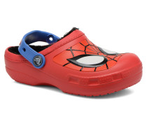 CC Spiderman Lined Clog Sandalen in rot
