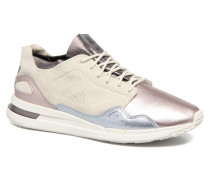LCS R Flow Metallic Sneaker in beige