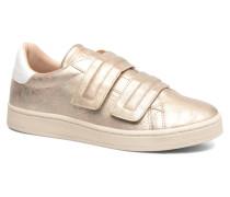Gonda velcro Sneaker in beige