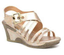JALE Sandalen in goldinbronze