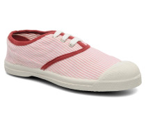 Tennis Rayures Souples E Sneaker in rosa