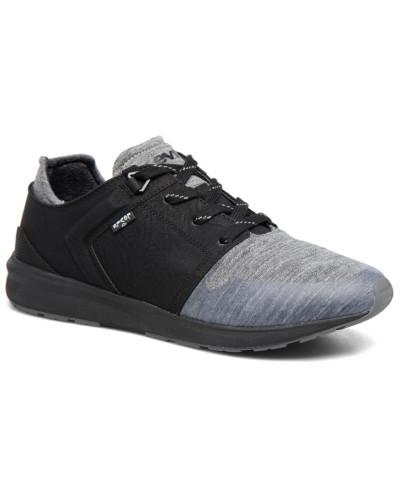 Black Tab Runner Sneaker in schwarz