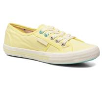 Baker plain Sneaker in gelb